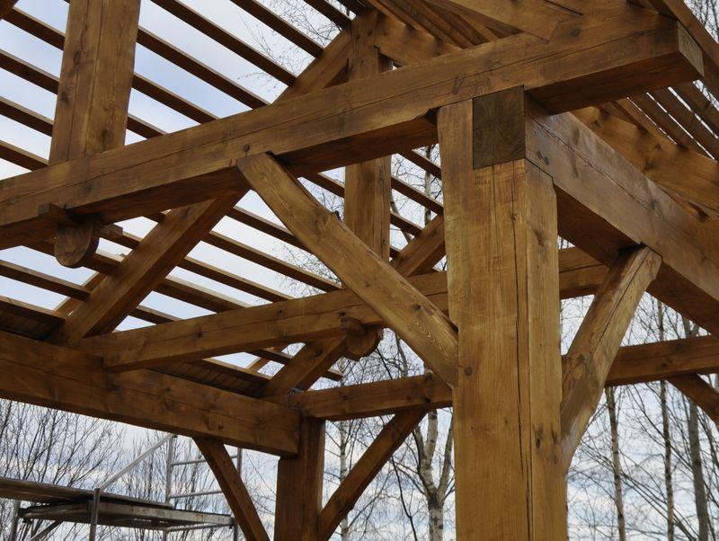 "Kurs: ""Timber framing"" i Estland"